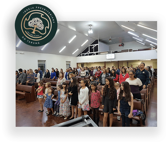 Culto da Igreja Presbiteriana do Tarumã