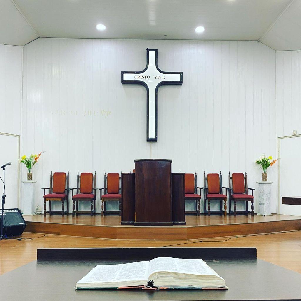 púlpito igreja presbiteriana do taruma curitiba